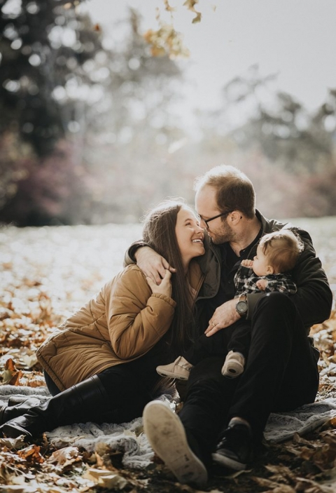 Seattle fall family portraits